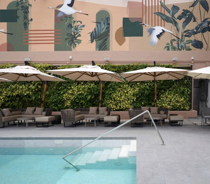 sky bar-swimming pool-天台酒吧-泳池