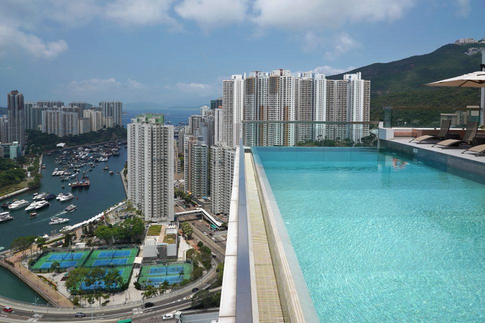 business hotel-rooftop-香港海景酒店-天台