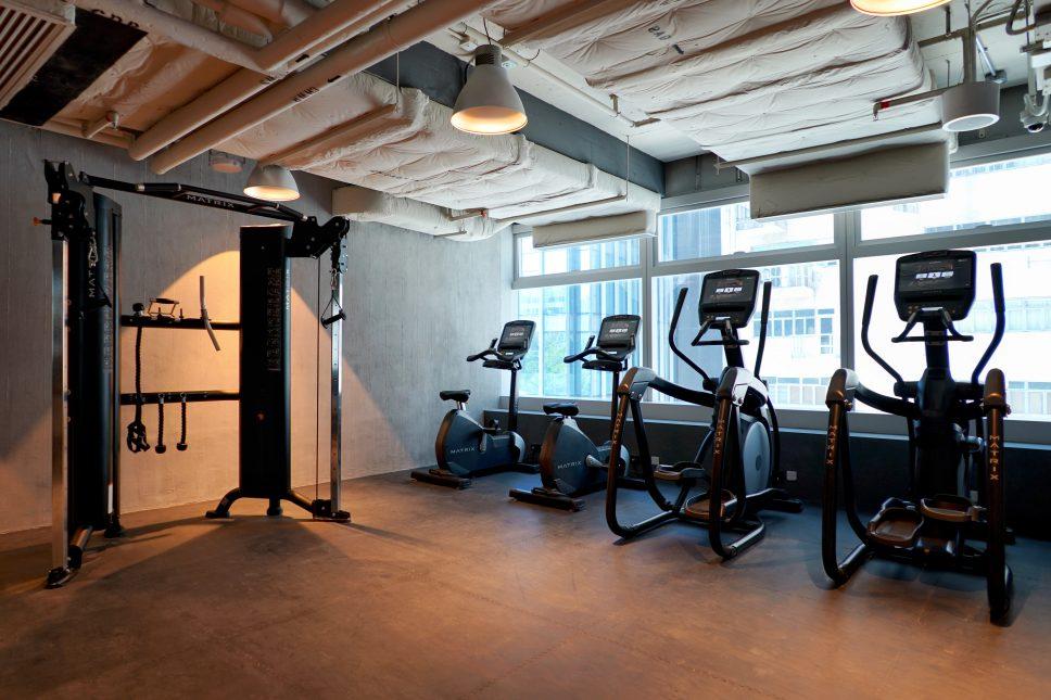 southside hotel-fitness equipment-香港南區酒店-健身設備