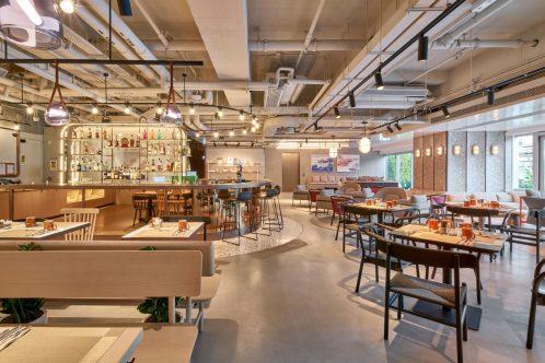 new hotel in hongkong-dining room-港島酒店-餐廳
